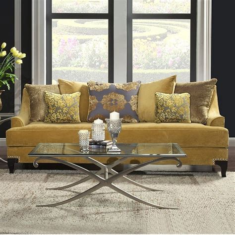 gold sofa living room sofa gold