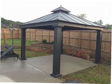 Hardtop Gazebo Lowes Gazebo Ideas Patio Gazebo Lowes