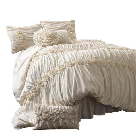 Lush Decor Darla 4 Comforter Set by Lush Decor Darla 4 Comforter Set Ivory Ebay