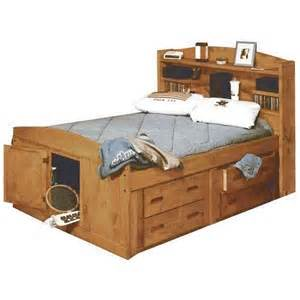 captain bed bunkhouse size captains bed twood fullcapt trendwood usa 4722
