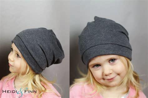 simple hat pattern sewing heidiandfinn modern wears for kids slouchy beanie hat