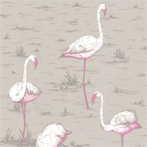 flamingo wallpaper sle buy cole son flamingos wallpaper 66 6042 amara