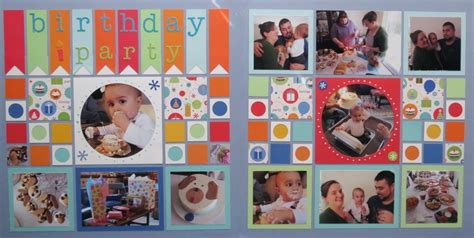 scrapbook layout birthday how to gather inspiration for a birthday scrapbook page