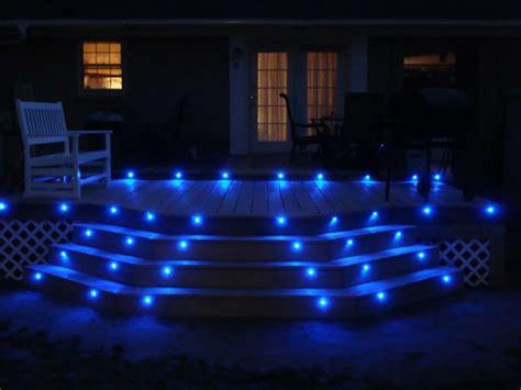 ideen für pool decks design treppe beleuchtung
