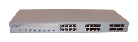 Switch Allied Telesyn 24 Port allied telesyn 10 100 24 port fast ethernet switch at fs724i ebay