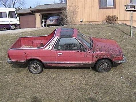 how to fix cars 1986 subaru brat auto manual brattman05 s 1986 subaru brat in brighton mi
