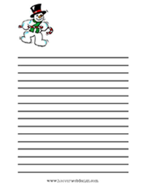 free printable snowman lined paper calendar x page 2 calendar template 2016