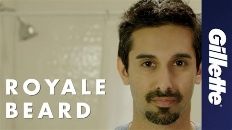 type beard royale beard styles how to shave the royale beard gillette