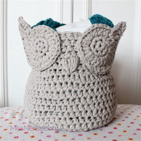 crochet pattern zpagetti owl zpagetti yarn basket yarns crochet and owl
