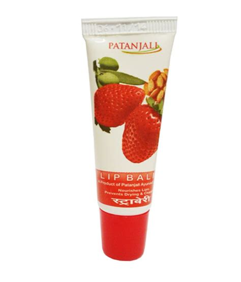 9 Of My Favorite Lip Products 2 by Patanjali Lip Balm Strawberry Pack Of 4 Buy Patanjali