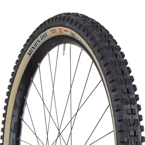 maxxis minion dhf k tire 26 x 2 3 quot 3c exo tr skinwall from bikebling