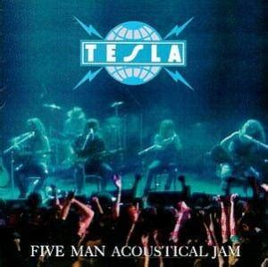 tesla five acoustical jam tesla five acoustical jam 2 lp 1990 live