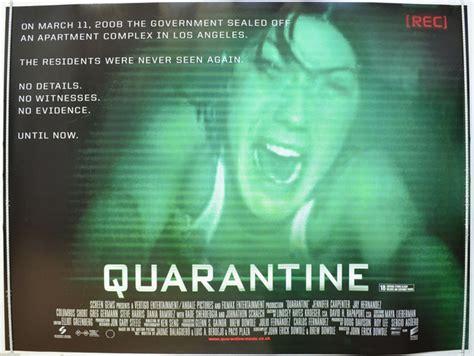 Quarantine 2008 Full Movie Quarantine Original Cinema Movie Poster From Pastposters Com British Quad Posters And Us 1