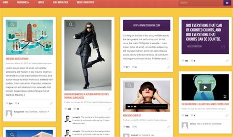 masonry layout pinterest like grid download 35 free and commercial pinterest like wordpress themes
