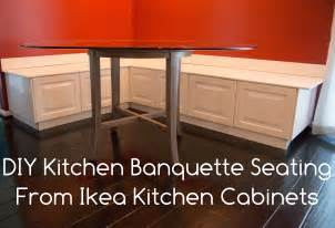 ikea diy kitchen bench or banquette seating