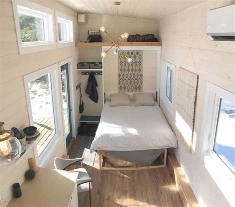 foot scandinavian tiny house  murphy bed  sale