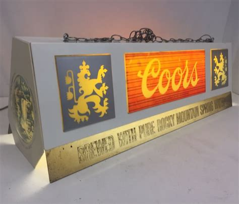 coors light pool table light coors pool table light shop collectibles daily