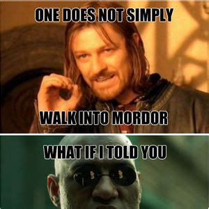 Mordor Meme - trying to use my hands on a cold day by christabell meme