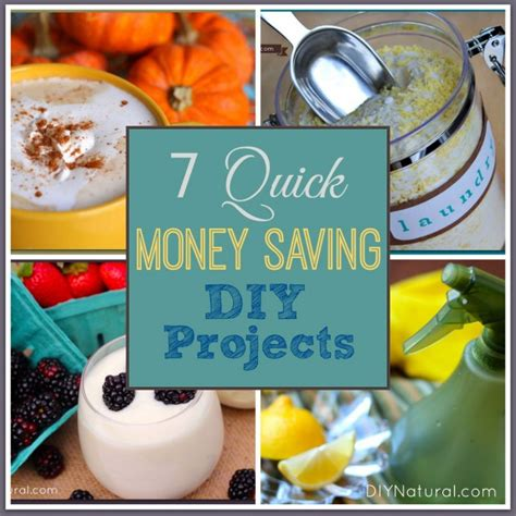 cool things to make at home that save money