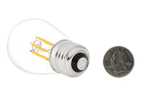 vintage light bulb signs led vintage light bulb s14 led sign bulb w filament led
