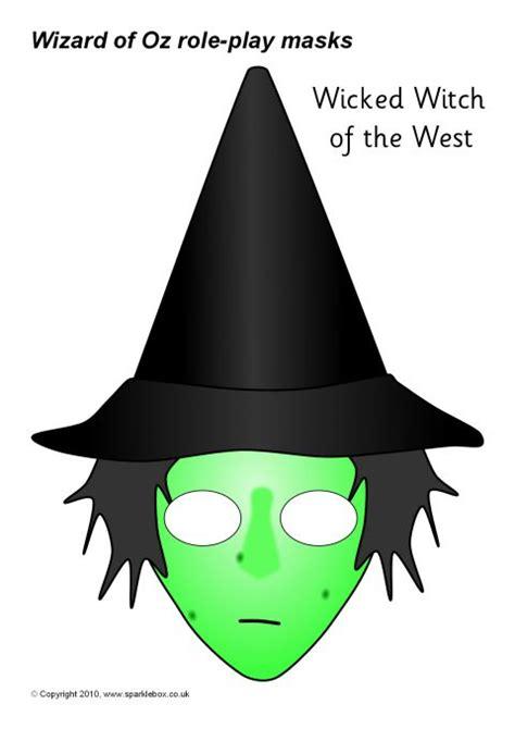 printable wizard mask wizard of oz role play masks sb1044 sparklebox