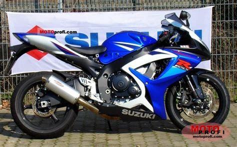 2007 Suzuki Gsxr 750 Horsepower Suzuki Gsx R 750 2007 Specs And Photos