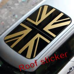 Mini Cooper Decal Stickers Mini Cooper Car Roof Sticker Sun Roof Decal Sticker For