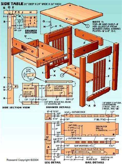 woodworking plans side table woodworking plan for side table woodworking plans