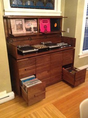 hand  sorenson record cabinet  joe joe built
