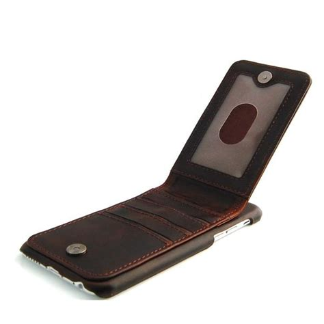 Leather Jete Iphone 6 5 5 iphone 6 6s brown classic genuine leather wallet combocases