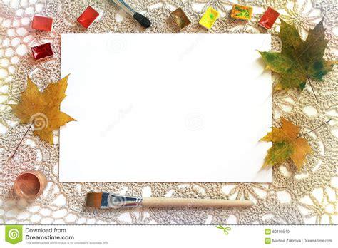 advertising layout artist mockup for art work presentation stock photo image 60190540