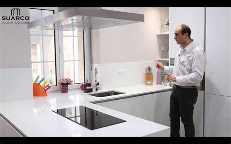 muebles de cocina modernas cocinas modernas americanas blancas con perfil gola y
