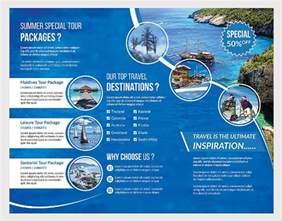 travel brochure template 24 free psd vector eps png