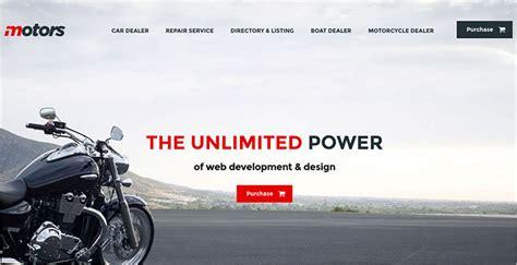 Motorcycle Wordpress Themes Templates Free Premium Bike Showroom Website Template Free