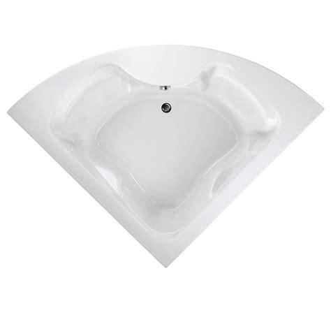 corner bathtub home depot american standard cadet 5 ft x 5 ft center drain corner