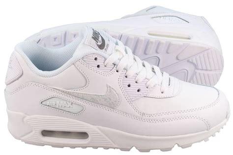 all white air max 90 junior