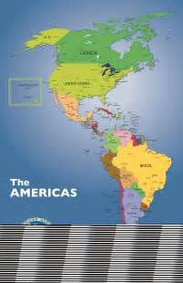 america on a map maps pan american association of kansas city