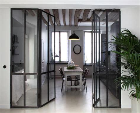 separation vitree entre cuisine et salon ensemble