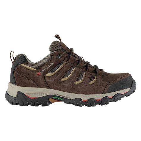 Karrimor Low Boots Black karrimor mens mount low walking shoes lace up trekking