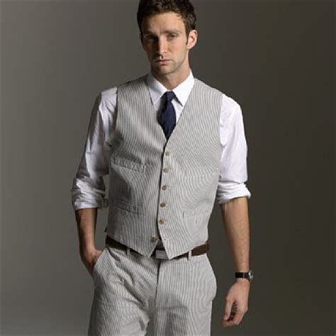 light grey suit vest fab glance men s fashion how to wear seersucker