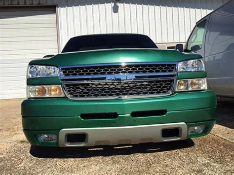 viridian green chevy silverado didspade custom paint additives