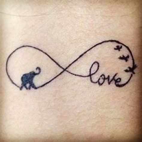 Infinity Tattoo Elephant | 20 reasons why you will want to get an elephant tattoo
