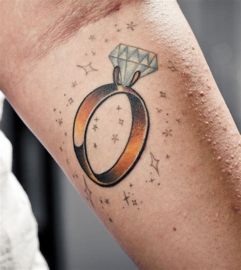 diamond ring tattoo tattoos designs ideas and meaning tattoos for you