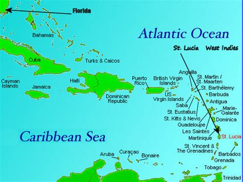 st caribbean map quotes by st lucia like success