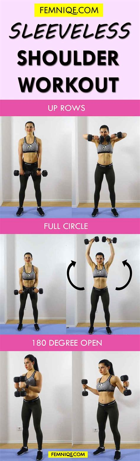shoulder workouts for 3 to make them sleek