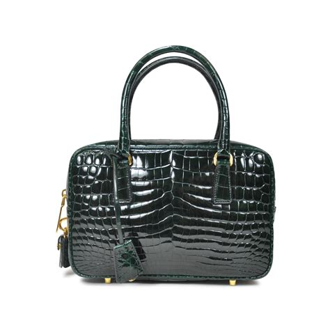 Guess Who The Vintage Fendi Crocodile Tote by Prada Crocodile Handbag The Fifth Collection