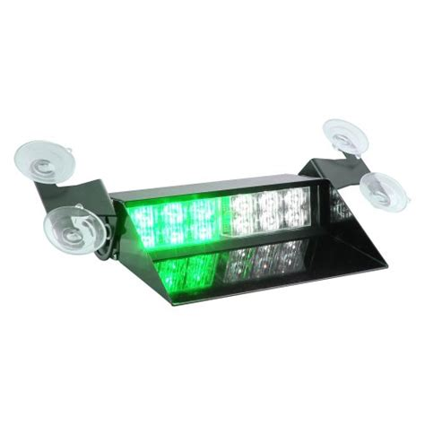 green emergency vehicle lights lhus solarblast 12w led emergency vehicle windshield