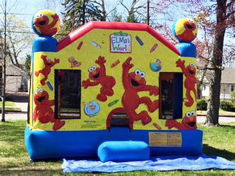 Bouncy House Rentals Nj by Elmo Bounce House Rental Jlapartyrentals New Jersey