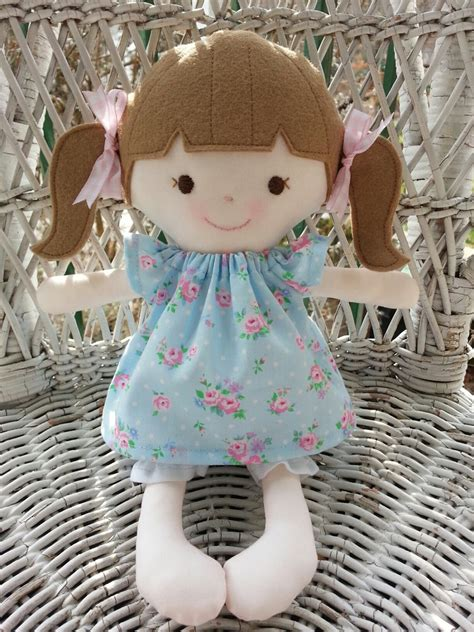 Handmade Cloth Doll - my friend miriama handmade rag doll