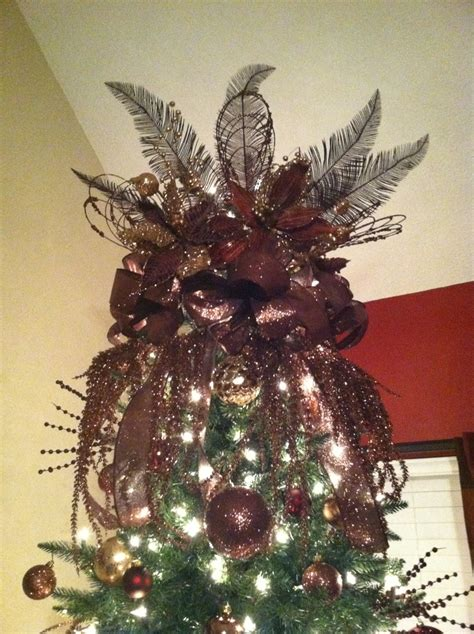 my beautiful diy tree topper christmas pinterest